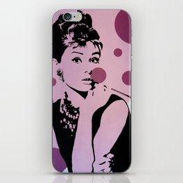 Hepburn #1 iPhone Skin