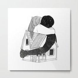 Love like home. Metal Print