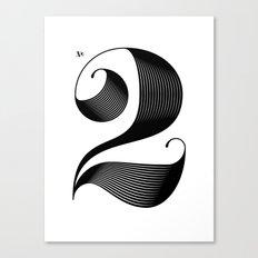 No. 2 Canvas Print