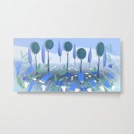 Treescape 2 Metal Print