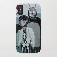 donnie darko iPhone & iPod Cases featuring Donnie Darko and Frank by AdamAddams