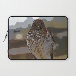 Chicken Hawk Starring Down At Me Laptop Sleeve