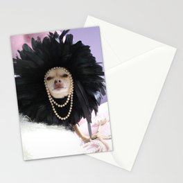 Chihuahua Vogue  Stationery Cards
