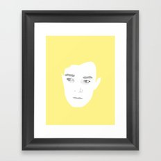 Keaton Framed Art Print