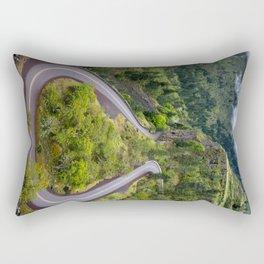 Rowena Crest Loops - Columbia River Gorge - Oregon Rectangular Pillow