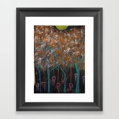 Bleeding Hearts Framed Art Print