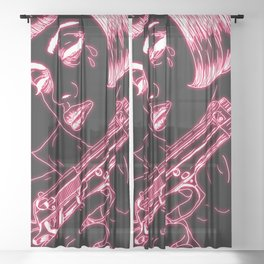 Malorie Sheer Curtain