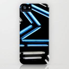 Neon Star iPhone Case