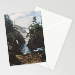 Misty Oregon Coast Stationery Cards