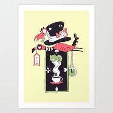 Alice Banner Art Print