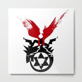 Fullmetal Alchemist - Edward Elric Metal Print