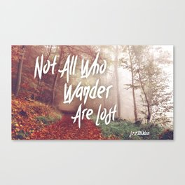 Lost Wanderers Canvas Print
