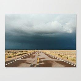 Loneliest Road in America Canvas Print
