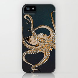 Embrace Of The Octopus iPhone Case
