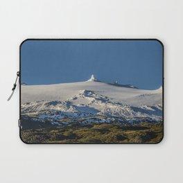 Snaefellsjokull volcano 3 Iceland Laptop Sleeve