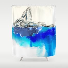 you're leaking dreams Shower Curtain