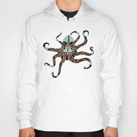octopus Hoodies featuring octopus by Manoou