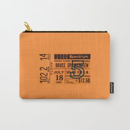 Concert Ticket Stub - Springsteen Carry-All Pouch