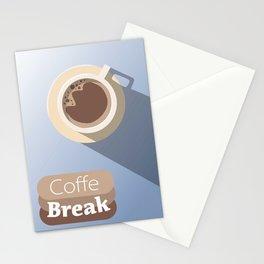 Coffe Break Stationery Cards
