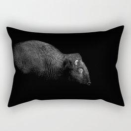 BW Bison Rectangular Pillow