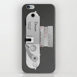 The dream Camera. Leica iPhone Skin