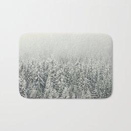 Snow Forest Bath Mat