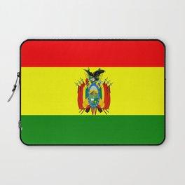 Flag of Bolivia Laptop Sleeve