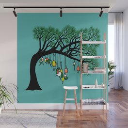 Buoy Tree by Seasons K Designs for Salty Raven Wall Mural