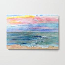 Ocean Study Metal Print