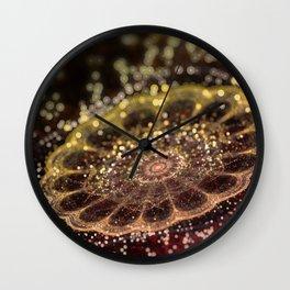 Mikroskopic II Wall Clock