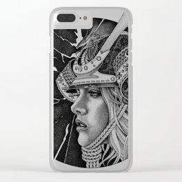 samurai passion Clear iPhone Case