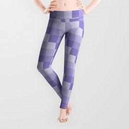 Four Shades of Lavender Square Leggings