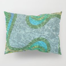 Cellular Abstract Pillow Sham