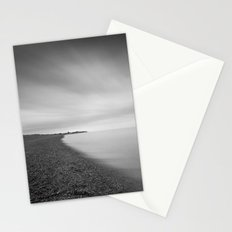 Aldeburgh Beach, towards Sizewell, Suffolk Stationery Cards