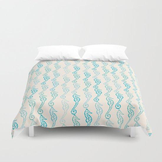 Pastel Marine Pattern 01 Duvet Cover