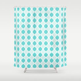 Blue Tiffany Co Shower Curtain