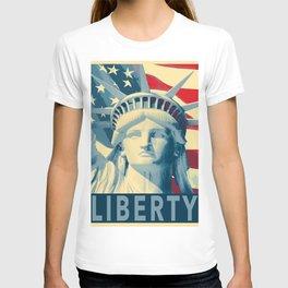 Statue of Liberty pop art T-shirt