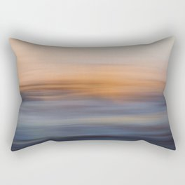 Undulating Sunset Rectangular Pillow