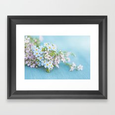Unforgettable prettiness Framed Art Print