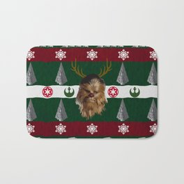 Chewdolph the Red-Nosed Wookiee Bath Mat