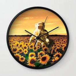 Space Gardener Wall Clock