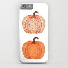 Patterned Pumpkin iPhone 6s Slim Case