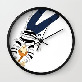 Heavy Wall Clock