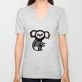 My Skeleton Friends - Koala Unisex V-Neck