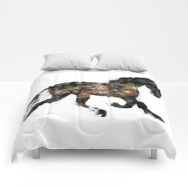 Horse (Distant Galaxy) Comforters