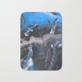 Blue Lightning Bath Mat
