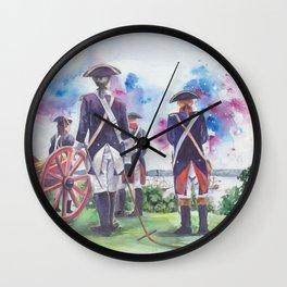 Artillery Company Wall Clock