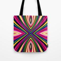 X Fractal Tote Bag