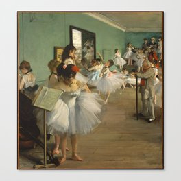 The Dance Class, Degas Canvas Print