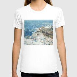 The South Ledges, Appledore - Childe Hassam T-shirt